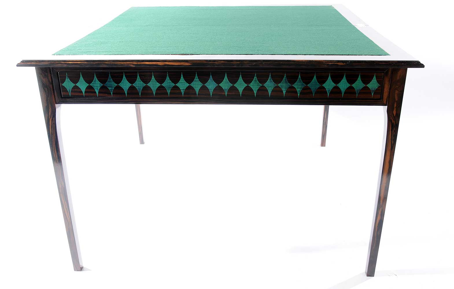 Macassar Ebony Card Table