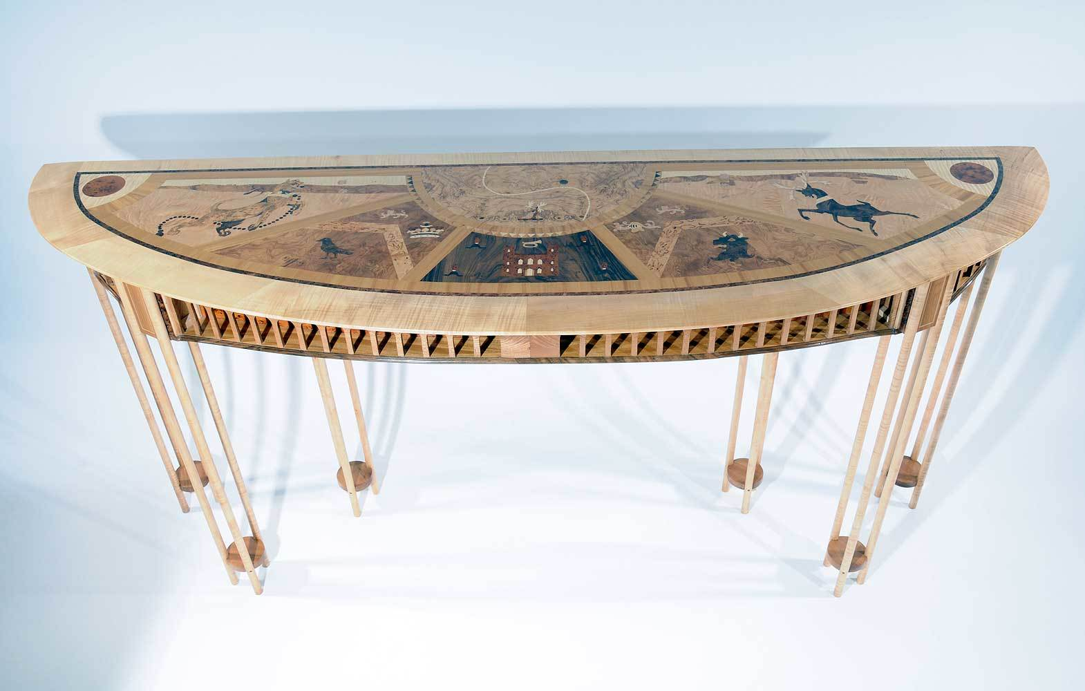 Heraldry Console Table